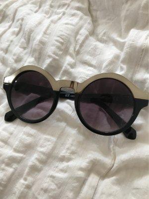 H&M Occhiale nero-argento