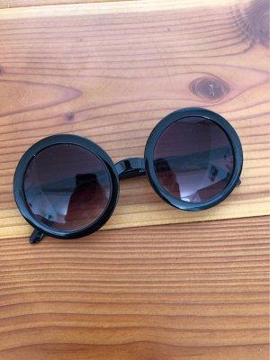 Asos Okrągłe okulary przeciwsłoneczne czarny