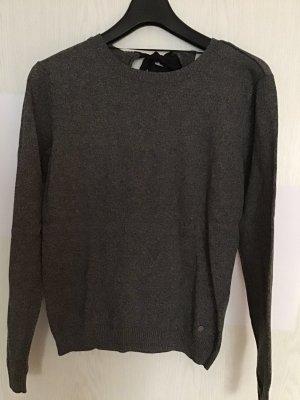 Adidas NEO Jersey de cuello redondo negro-blanco