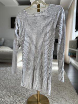 Benetton Długi sweter jasnoszary