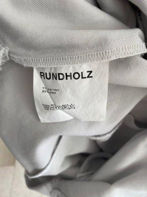 Black Label Rundholz Abito scamiciato grigio chiaro Cotone