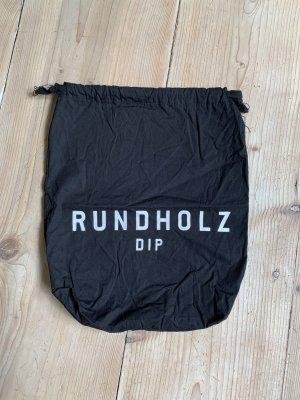 Rundholz dip Sac en toile noir-blanc coton
