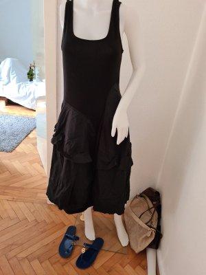 rundholz kleid schwarz L