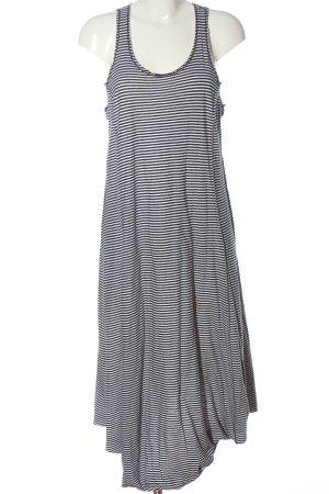 Rundholz Midi Dress black-white allover print casual look