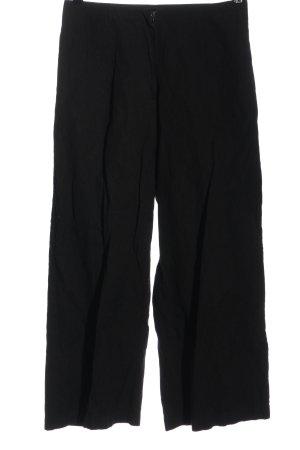 Rundholz Wełniane spodnie czarny W stylu biznesowym