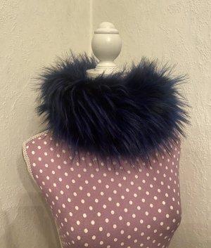 Bufanda tubo azul oscuro