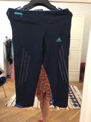 Adidas Pantalone da ginnastica blu scuro