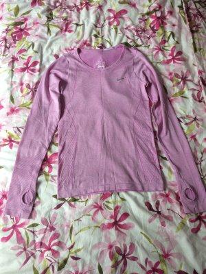 Nike Sportshirt paars Polyester