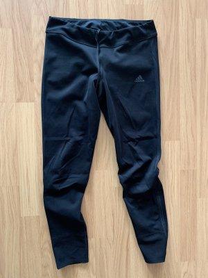 Running tights in schwarz