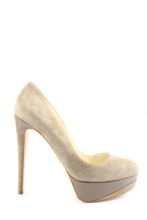 Rupert Sanderson High Heels creme Casual-Look