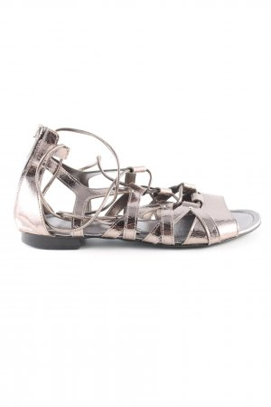 Russel & Bromley Roman Sandals gold-colored elegant