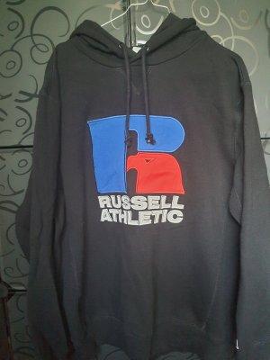 Russel Athletic Sweter z kapturem czarny