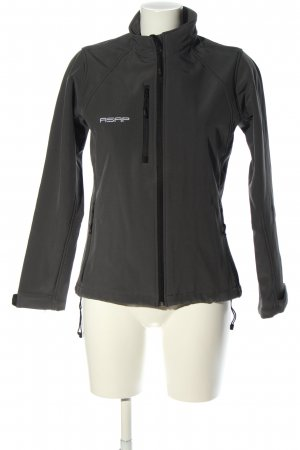Russell Outdoor Jacket black-white flecked casual look