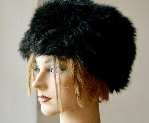 Tally Weijl Fur Hat black polyester
