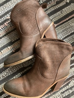 Buffalo Ankle Boots black brown-dark brown