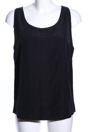 Rut & Circle ärmellose Bluse schwarz Casual-Look