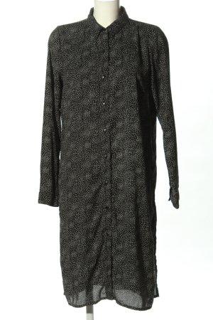 Rut & Circle Blusenkleid schwarz-weiß abstraktes Muster Casual-Look