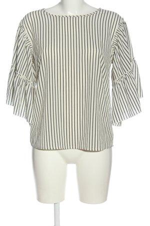 Rut & Circle Long Sleeve Blouse white-black allover print casual look