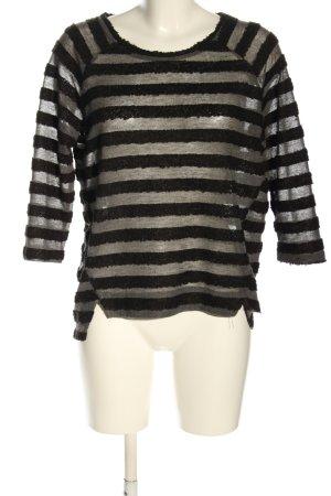 Rut & Circle Longsleeve black-light grey allover print casual look
