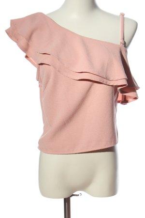 Rut & Circle Rüschen-Bluse pink Casual-Look