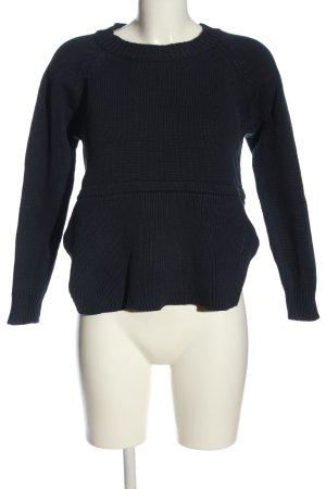Rut & Circle Crewneck Sweater black casual look