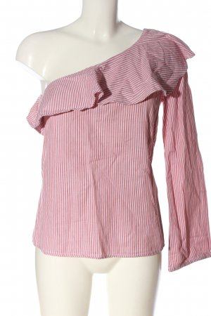 Rut & Circle Slip-over Blouse red-white striped pattern casual look