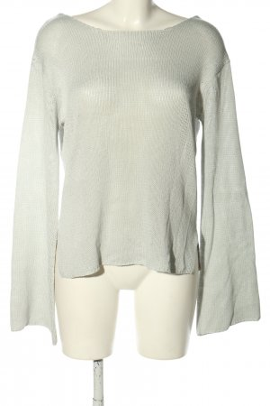 Rut & Circle Knitted Sweater light grey casual look