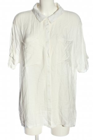 RVCA Camicia blusa bianco sporco stile casual