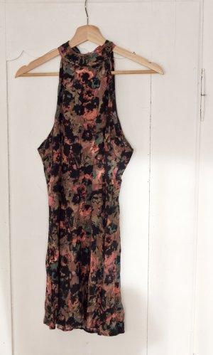 RVCA Sommerkleid floral mit schönem Rückenausschnitt