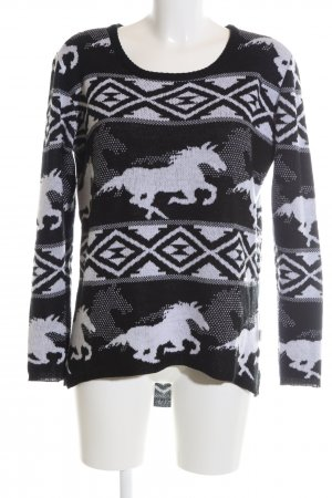 RVCA Strickpullover grafisches Muster Casual-Look