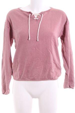 RVCA Sweatshirt pink Casual-Look