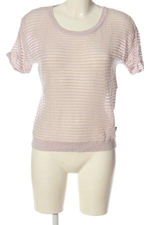 RVCA T-Shirt pink striped pattern street-fashion look