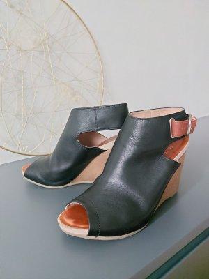 RYLKO Socque noir cuir