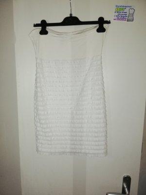 S 38 Kleid ärmellos H&M weiß
