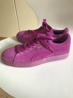 Puma Sneaker con tacco rosa-viola