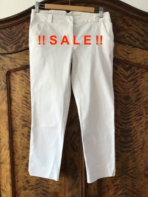 Promod Chinos white cotton