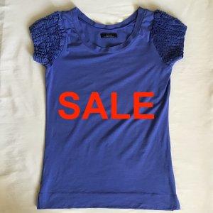 Massimo Rebecchi Alpha Long Shirt neon blue cotton