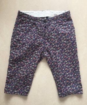 November Pantalon capri multicolore coton