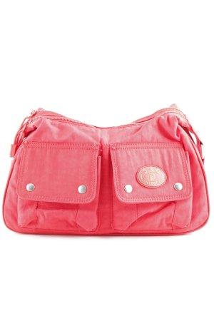 S&G Handtasche rot sportlicher Stil