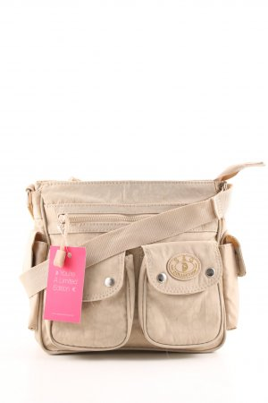 S&G Schultertasche creme Casual-Look
