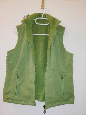 S Jacke ärmellos Gilet cecil grün