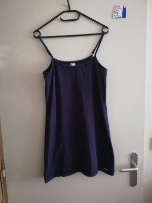 S Kleid ärmellos Skiny dunkelblau