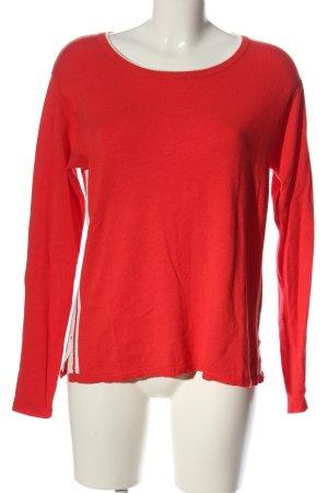 S.Marlon Fine Knit Jumper red casual look