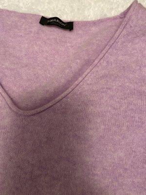 S.Marlon Kaszmirowy sweter różowy-fiolet