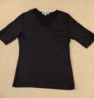 S. Marlon Kurzarm Shirt schwarz Gr. S