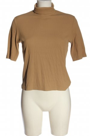 S.Marlon Turtleneck Shirt brown casual look