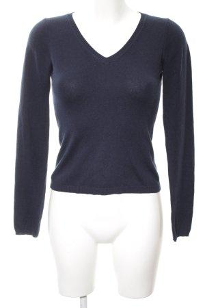 S.Marlon Strickshirt blau Casual-Look