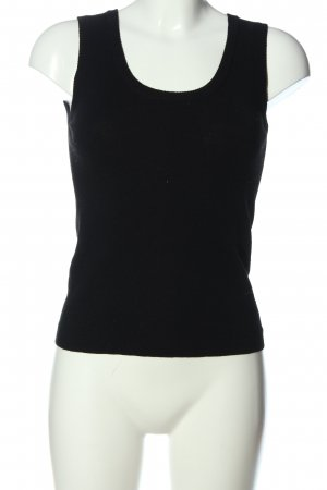 S.Marlon Knitted Vest black casual look