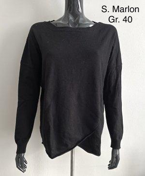 S.Marlon Crewneck Sweater black