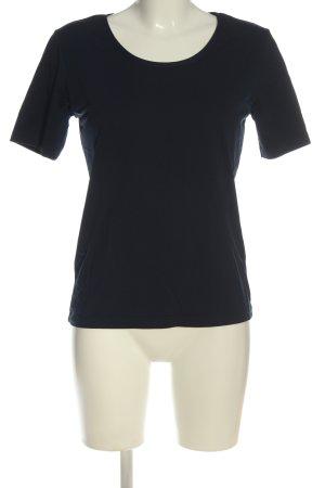 S.Marlon T-Shirt schwarz Casual-Look